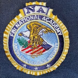 FBI National Academy zip up
